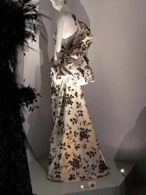 1980s evening dress