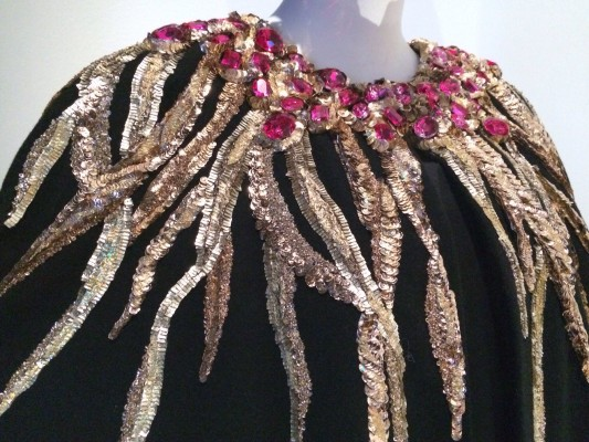 Bead and sequin embroidery