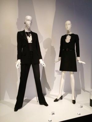 Tuxedo and dress