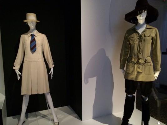 Dress and safari suit