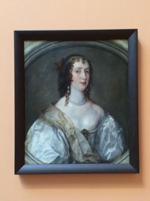 Portrait of a lady by Van Dyke