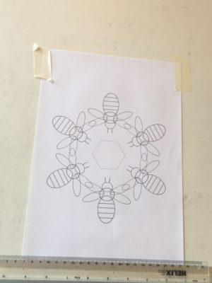 'Teamwork' bees final design