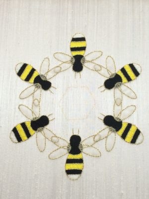 Bees with both wings