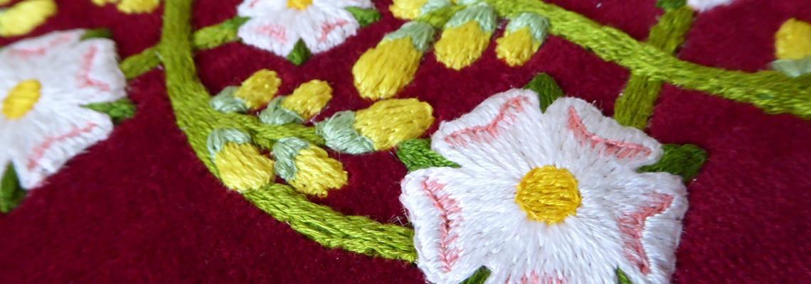 Plantagenet Wreath banner