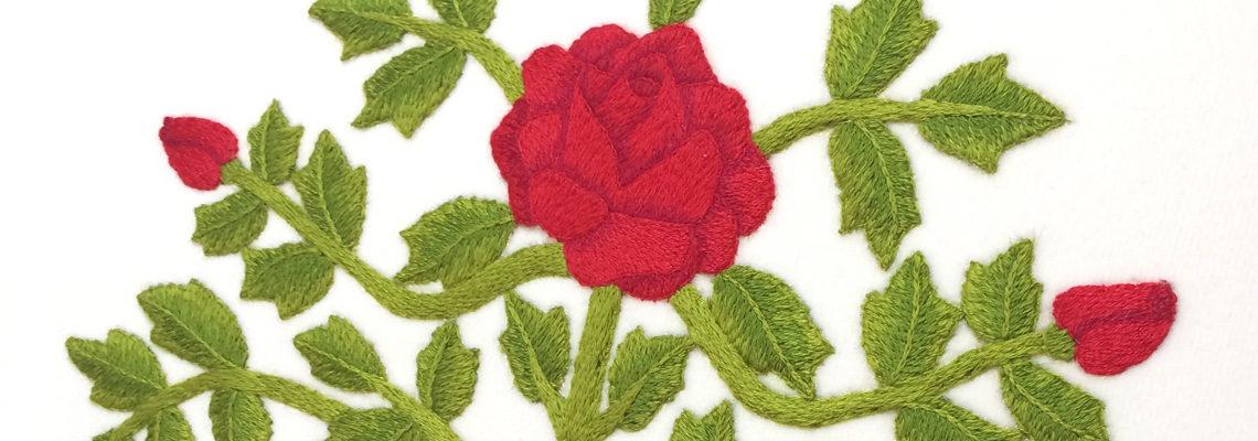Ruskin Roses banner
