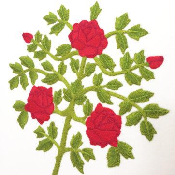 Ruskin Roses panel