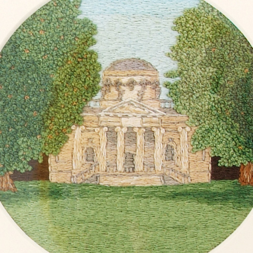 Ruth O'Leary - Embroidery Art - Commission work
